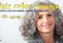 Photo of تغییرات رنگ مو در انسان با افزایش سن